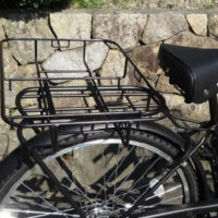 自転車リアキャリア用浅型ラック